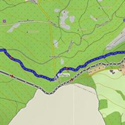 Änderung 1: Brandhöhe/Ziegelberg – Streckenführung Reduced Trail
